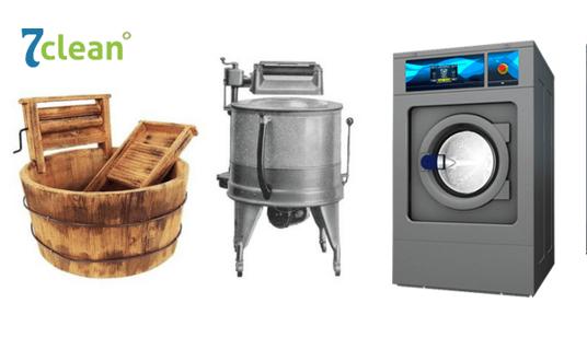 lavadoras historia Modernas